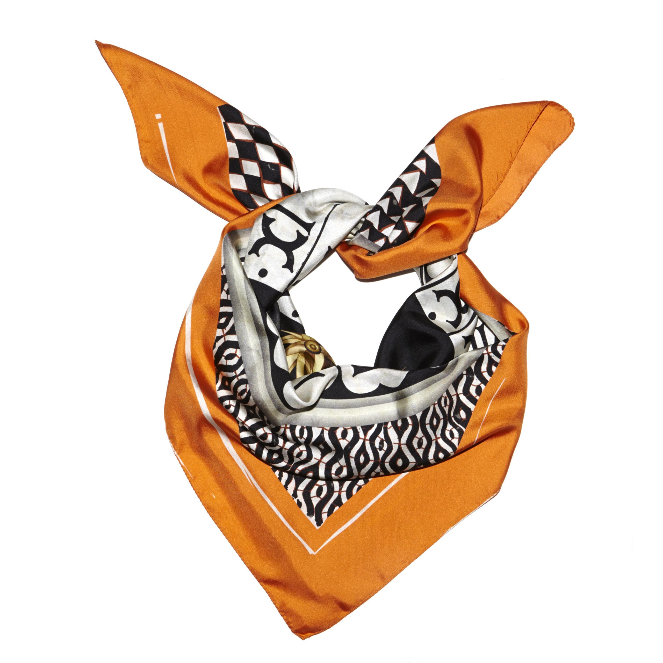 Orange Firenze Knotted