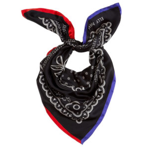 Knotted-Black-Elly-silk-bandana