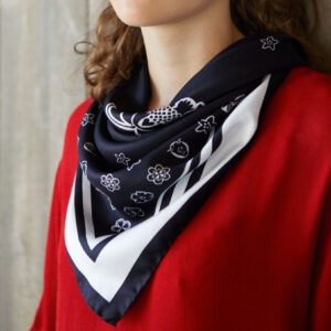 Amore-Foulard-Jet-Black-Monochrome-Product-Crop